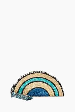 Rebecca Minkoff Straw Taco Clutch - ONE COLOR - STYLE