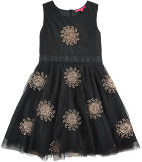 Derhy Kids Embroidered dress with lurex thread - Manuella