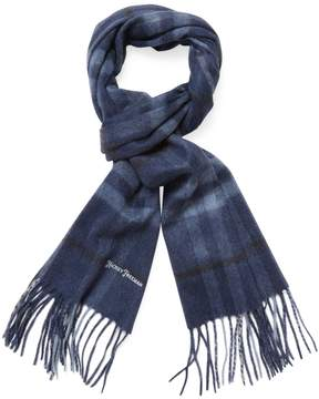 Hickey Freeman Men's Cashmere Plaid Scarf