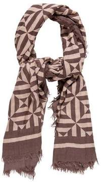 Marc Jacobs Abstract Printed Scarf