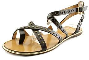 Report Signature Cash 2 Women Open Toe Synthetic Black Gladiator Sandal.