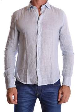 Altea Men's Light Blue Linen Shirt.