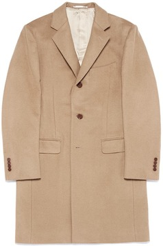 TOMORROWLAND Cashmere-wool blend melton coat
