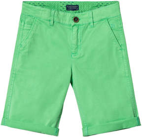 Mayoral Green Chino Shorts