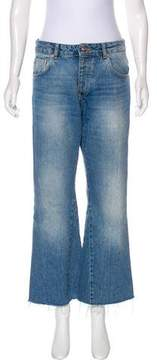Anine Bing High-Rise Wide-Leg Jeans