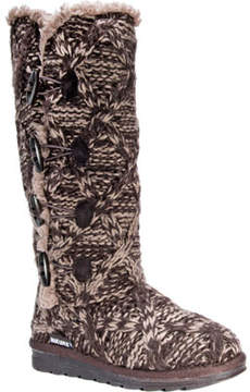 Muk Luks Felicity Knitted Mid Calf Boot (Women's)