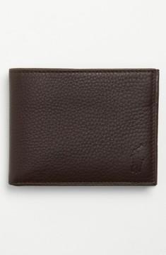 Polo Ralph Lauren Men's Leather Passcase Wallet - Brown