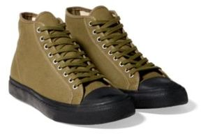 Ralph Lauren Mayport Canvas Sneaker Canvas Olive 10