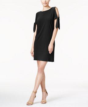 Bar III Tie-Detail Shift Dress, Created for Macy's