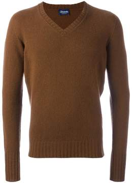 Drumohr v neck jumper