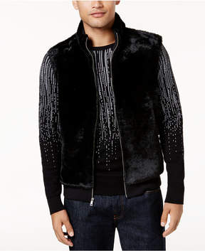 INC International Concepts I.n.c. Men's Faux-Fur Lined Vest, Created for Macy's
