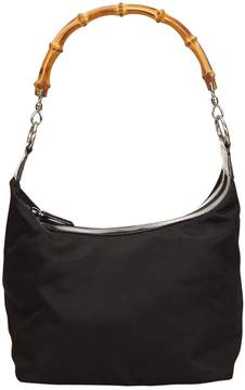 Gucci Bamboo handbag - BLACK - STYLE