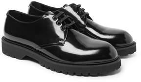 Saint Laurent Liverpool Patent-Leather Derby Shoes