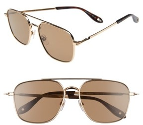 Men's Givenchy 7033/s 58Mm Sunglasses - Gold