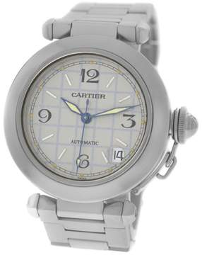 Cartier Pasha 2324 Stainless Steel Date Automatic 35mm Watch