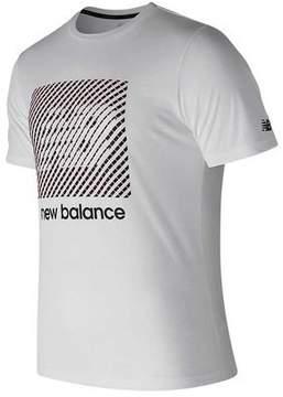 New Balance Men's MT81085 Hi-Def Heather Tech Short Sleeve Tee