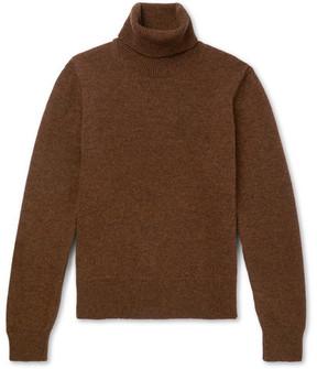 Ami Wool Rollneck Sweater