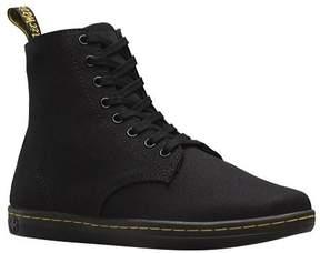 Dr. Martens Men's Alfie 8 Eye Boot Black Canvas Size 11 M (UK)