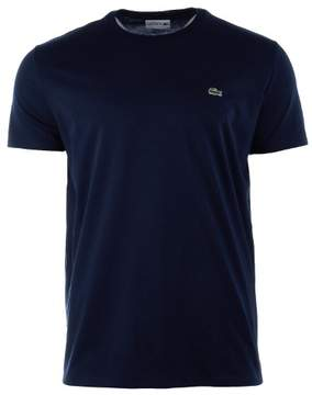 Lacoste Mens Short Sleeve Henley Tee