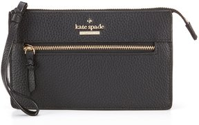 Kate Spade Jackson Street Collection Lancey Wristlet - BLACK - STYLE