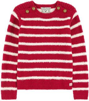 Scotch & Soda Striped curly wool sweater