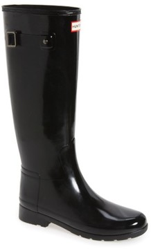 Hunter Women's 'Original Refined' High Gloss Rain Boot