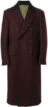 Joseph twill double breasted overcoat