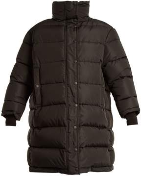 Balenciaga Funnel-neck oversized quilted down coat