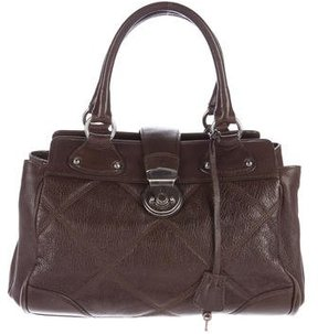 MaxMara Quilted Leather Handle Bag