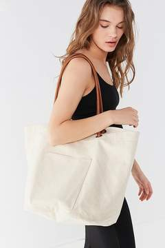 Urban Outfitters Knotted Canvas Bucket Tote Bag