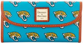 Dooney & Bourke NFL Jaguars Continental Clutch - JAGUARS - STYLE