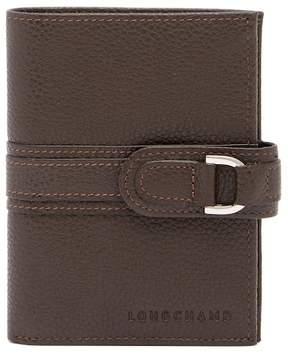 Longchamp VF Leather French Purse - MOCHA - STYLE