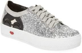 Alice + Olivia Women's Stace Taylor Glittered Sneakers
