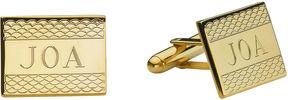 Asstd National Brand Personalized Cornwall Pattern Cuff Links