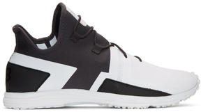 Y-3 Black and White Arc RC Sneakers