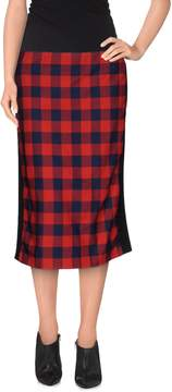 American Retro Knee length skirts