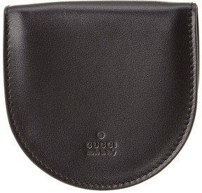 Gucci Black Leather Coin Purse - ONE COLOR - STYLE