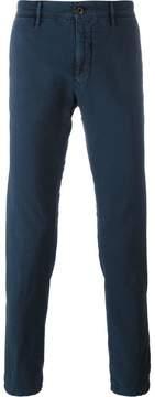 Incotex skinny cropped trousers