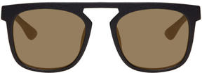 Mykita Black Delta Sunglasses