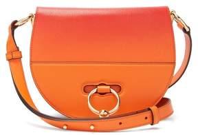 J.W.Anderson Latch Ombré Leather Cross Body Bag - Womens - Orange