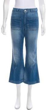 Amo Mid-Rise Wide-Leg Jeans