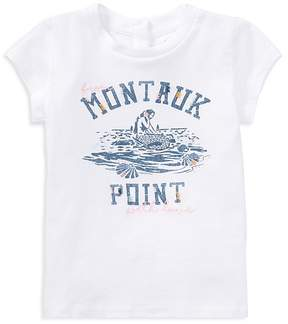 Polo Ralph Lauren Girls' From Montauk Point With Love Mermaid Tee - Baby