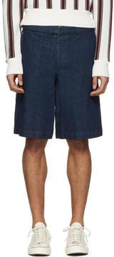 Missoni Blue Denim Wide Shorts