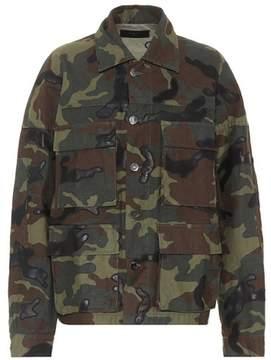 Amiri Camouflage cotton jacket