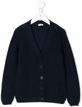 Il Gufo ribbed knit cardigan