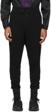 Pyer Moss Black Slouched Gym Pants