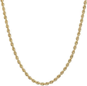 JCPenney FINE JEWELRY 14K Gold Glitter Rope 18-30 1.75mm Chain