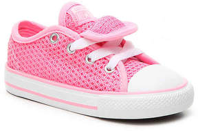Converse Girls Chuck Taylor All Star Double Tongue Infant & Toddler Sneaker