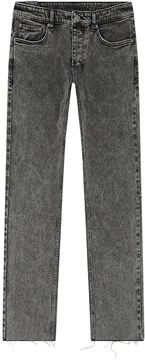 Ksubi Cropped Acid Wash Jeans