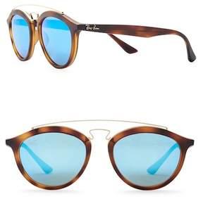 Ray-Ban Phantos 53mm Aviator Sunglasses